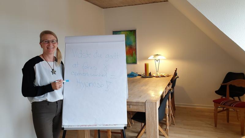 Hypnotisk coaching v/Tina Nurby